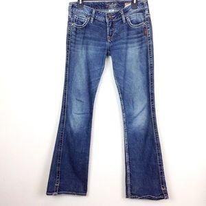 Silver Jeans Frances 18 Flares 27x31 - N967